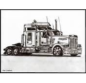 Drawings Http//klattudeviantartcom/art/Kenworth Truck 190914799
