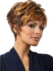 chic layered hairstyle for short hair funky formal hairstyles
