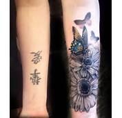 Flowers &amp Butterflies Cover Up  Best Tattoo Ideas Designs