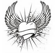 Hearts With Wings Coloring Pages For Kids &gt&gt Disney
