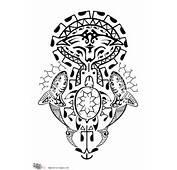 Tattoo Of Polynesian Ocean Freedom Voyage  Custom