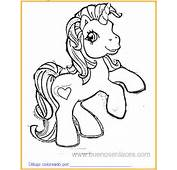 Dibujo De Mi Pequeño Pony Para Colorear Imprimir Y Pintar Sobre
