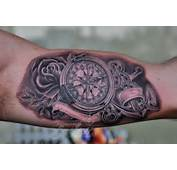 Compass And Anchor Tattoo By Bokitattoo On DeviantArt