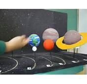 Maquete Do Sistema Solar – Movimentos De Rota&amp231&amp227o E Transla&amp231