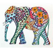 Elephant On Pinterest Print Art And Watercolor