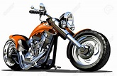 Cartoon Harley Davidson Clipart (100+)