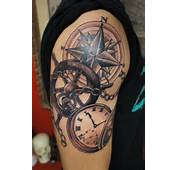 Life Is What You Make Of Pocket Watch Tattoo Design By Xxmortanixx
