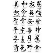Chinese Symbols And Their Meanings  Language Uses Ideograms