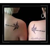 Moeder Dochter Teken Schouder  Kims Tattoo Paradise