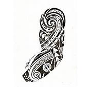 Tribal Wave Tattoo Design Real Photo Pictures Images And Sketches
