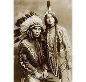 Native American Couple 1912  Matthews Island Of Misfit Toys