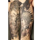 Native American Tattoo For Back Shoulder