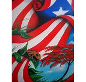 Puerto Rican Flag Tree &amp Frog  Arts Pinterest