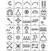 Indian Tattoo Cherokee Symbols Native American