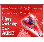 Birthday Wishes For Aunt Images Pictures