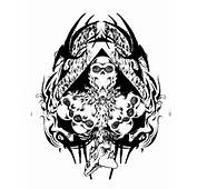 Tribal Skull AceOfSpades – Tattoo Picture At CheckoutMyInkcom