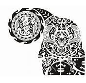 Wonderful Maori Polynesian Tattoos Design