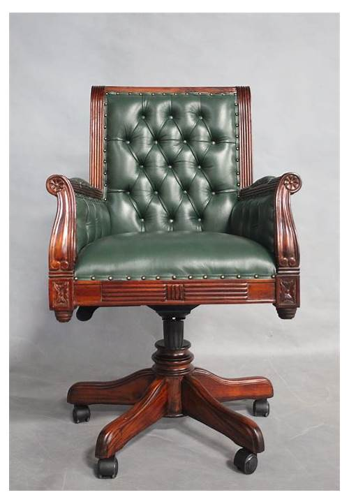 Antique Wood Office Chair office design & decor ideas gallery