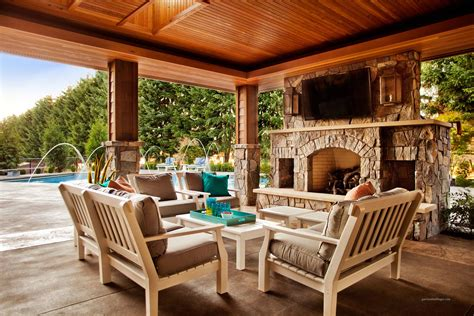Backyard Covered Patio Designs