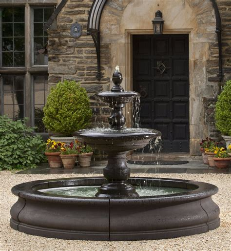 Basin Outdoor Garden Fountains