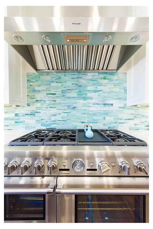Beach House Kitchen Backsplash kitchen design & decor ideas gallery