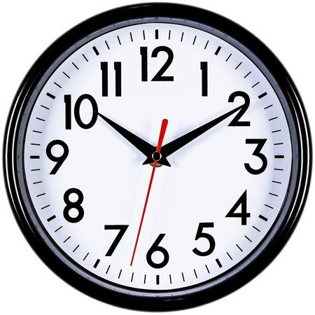 """Bernhard Products - Pink Wall Clock 8"""" Silent Non-Ticking Quality"""