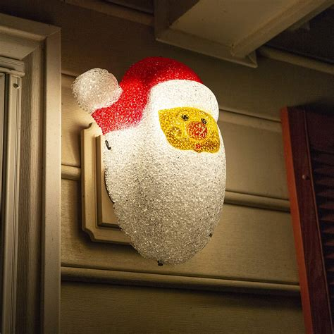 Besti Santa Porch Light Cover Holiday and Christmas Decorations  