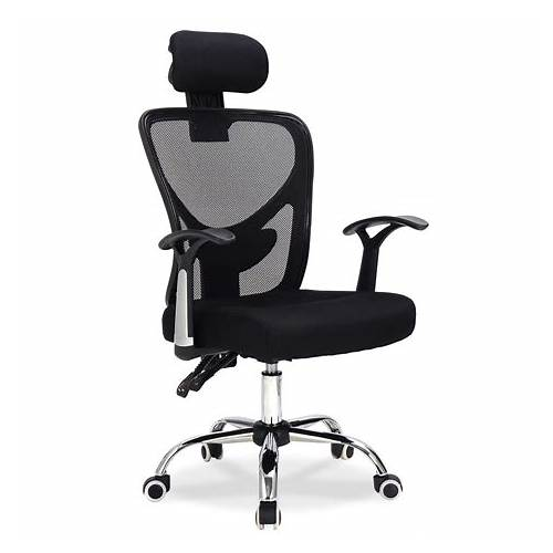 Black Office Chair Headrest office design & decor ideas gallery