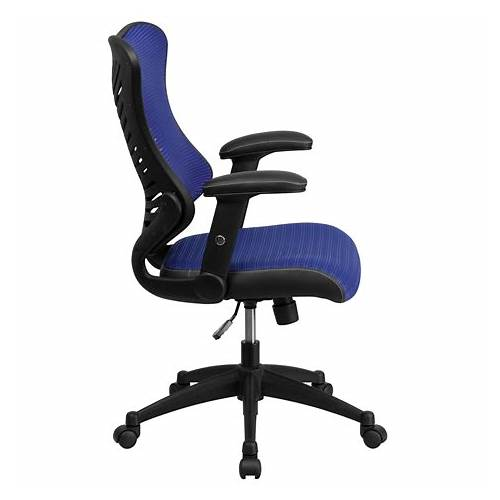 Blue Mesh Back Office Chairs office design & decor ideas gallery
