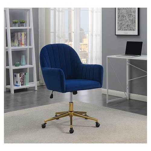 Blue Office Chair office design & decor ideas gallery