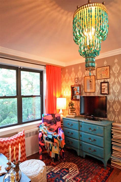Bohemian Living Room Design living room design & decor ideas gallery