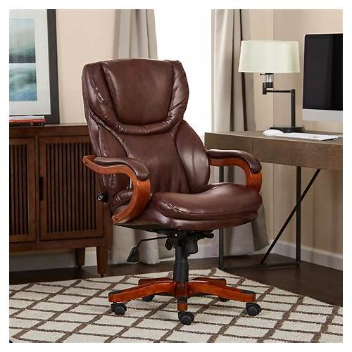 Brown Leather Executive Office Chair office design & decor ideas gallery