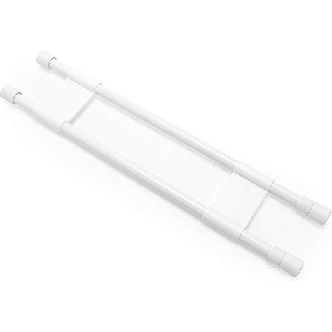 """Camco 28"""" Double RV Refrigerator Bar, Holds Food and Drinks"""