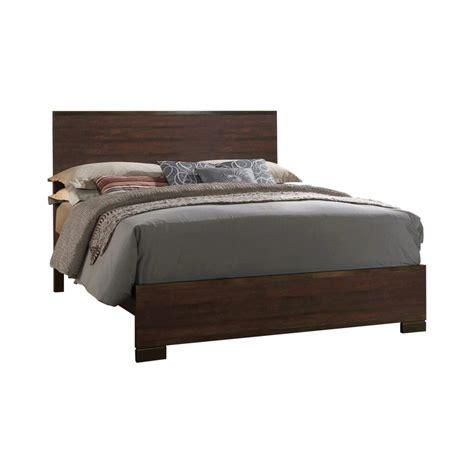 Coaster Home Furnishings 204351Q Panel Bed, Rustic Tobacco/Dark