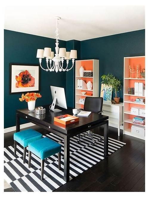 Color Home Office Decorating Ideas office design & decor ideas gallery