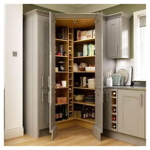 Corner Kitchen Pantry Cabinet kitchen design & decor ideas gallery
