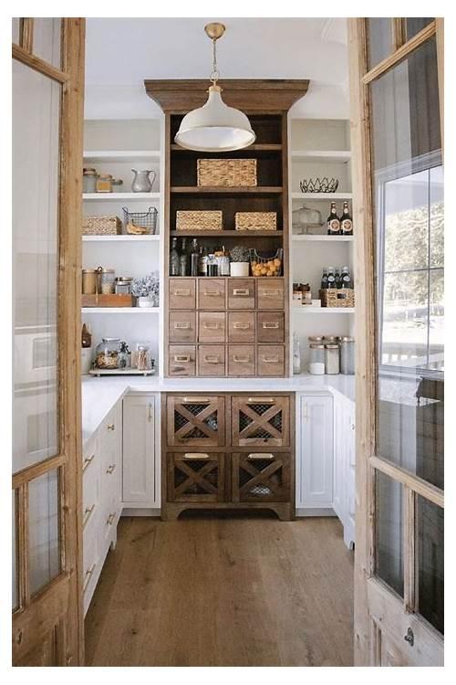 Cottage Style Kitchen Pantry kitchen design & decor ideas gallery