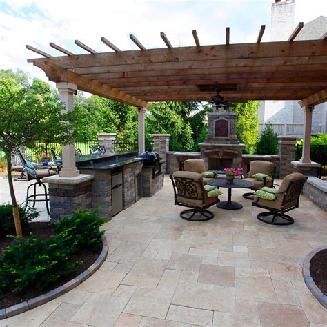 Covered Outdoor Patio Living Space
