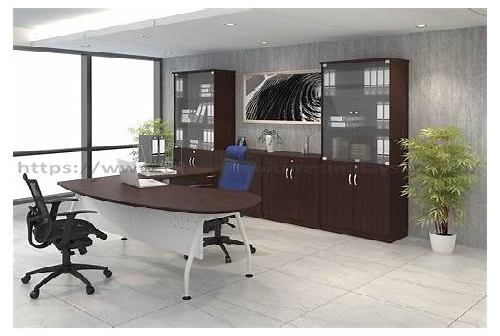 Curved Corner Office Desk office design & decor ideas gallery