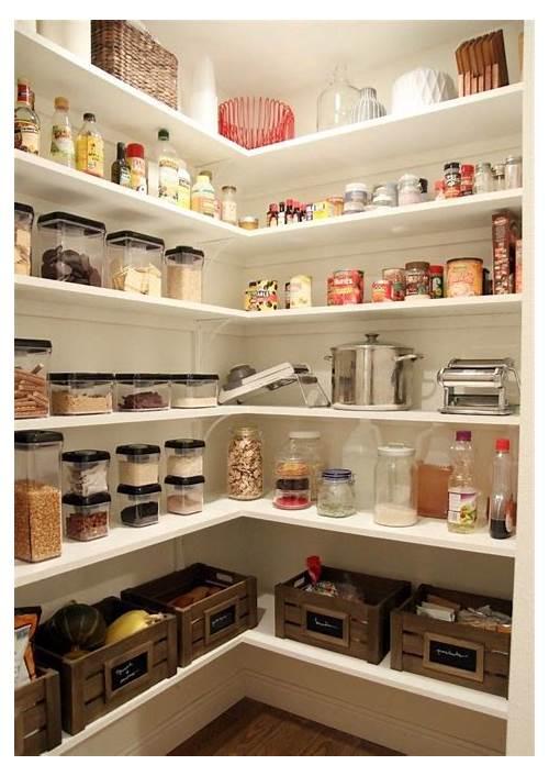 DIY Kitchen Pantry Shelving kitchen design & decor ideas gallery