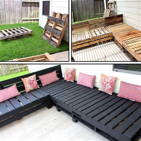 DIY Pallet Patio Furniture Cushions