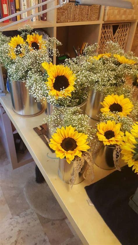 DIY Sunflower Wedding Decorations home decor & decor ideas gallery