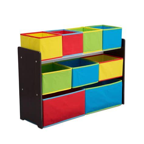 Delta Children Deluxe Multi-Bin Toy Organizer with Storage Bins ,