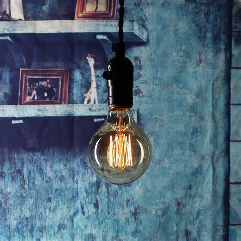 Edison Bulb,40w Dimmable Squirrel Cage Filament Vintage Light