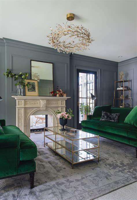 Emerald Green Living Room Design living room design & decor ideas gallery
