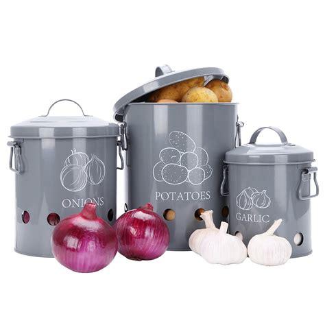 Esschert Design C2070 Potato Storage Tin, Metal