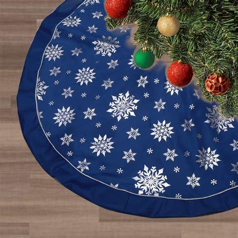 FLASH WORLD Christmas Tree Skirt,48 inches Large Xmas Tree