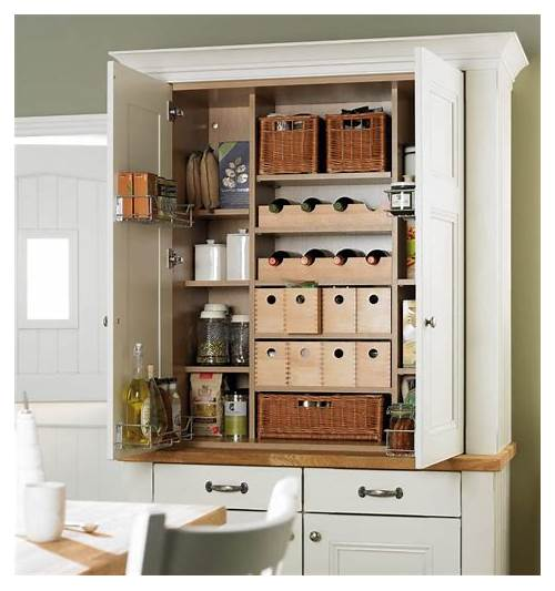 Free Standing Kitchen Pantry Cabinets kitchen design & decor ideas gallery