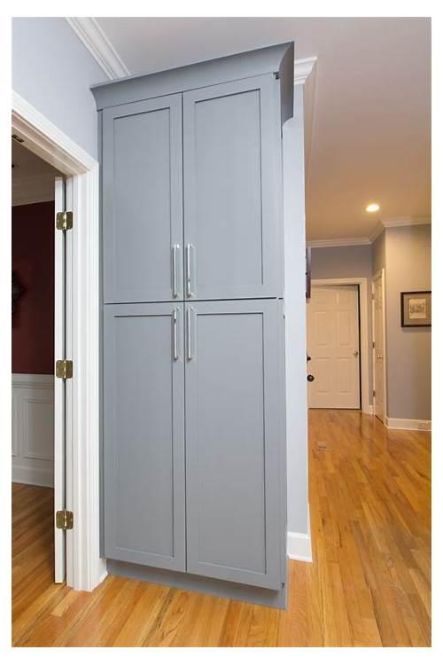 Gray Kitchen Cabinet Pantry kitchen design & decor ideas gallery