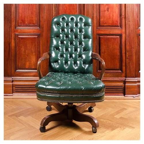 Green Leather Office Chair office design & decor ideas gallery